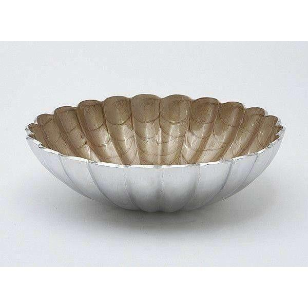"Julia Knight Peony 12"" Round Deep Bowl Toffee 4500030"
