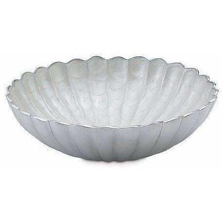 "Julia Knight Peony 15"" Round Bowl Snow 2830015"