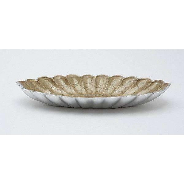 "Julia Knight Peony 16"" Oval Bowl Toffee 4140030"