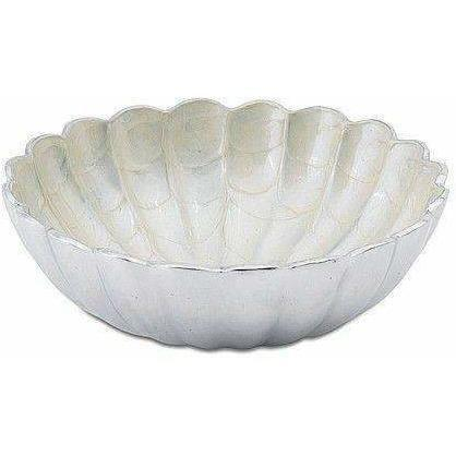 "Julia Knight Peony 8.5"" Round Deep Bowl Snow 4710015"