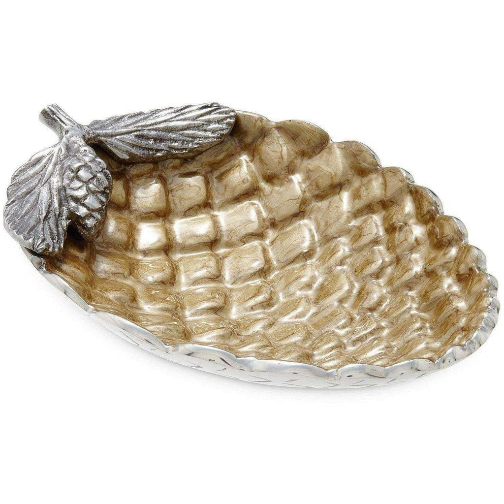 "Julia Knight Pine Cone 11"" Bowl Toffee 7800030"