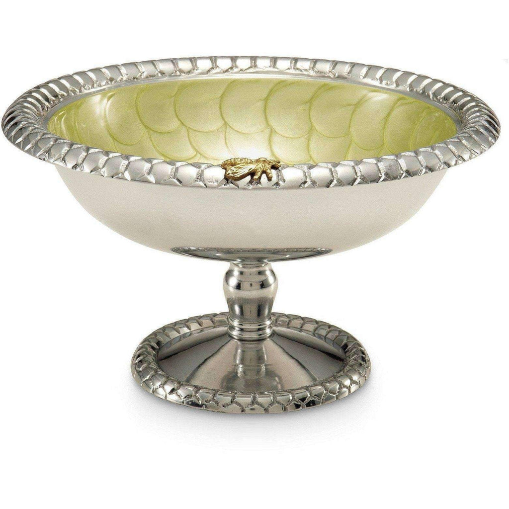 "Julia Knight Queen Bee 9.75"" Compote Kiwi 7490026"