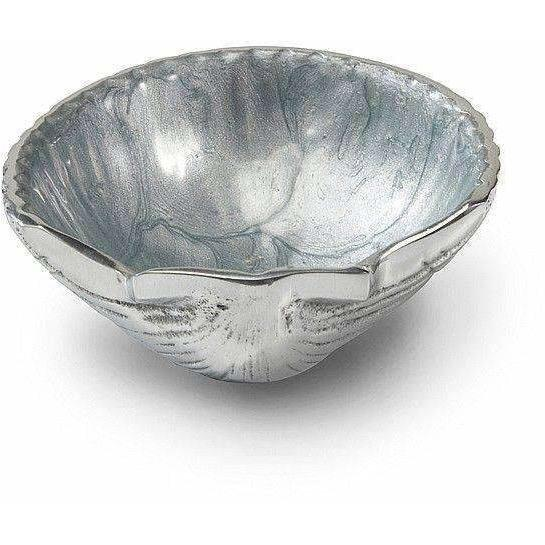 "Julia Knight Scallop 3.5"" Petite Bowl Hydrangea 5390027"