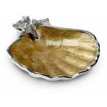 "Julia Knight Scallop Starfish 4.5"" Bowl Toffee 5400030"