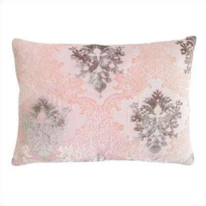 Kevin O'Brien Brocade Velvet Lumbar Pillow BROP-H61-1420