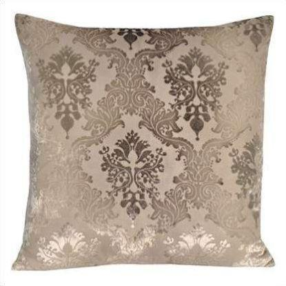 Kevin O'Brien Brocade Velvet Pillow BROP-DOVE-22