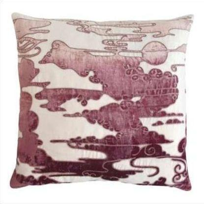 Kevin O'Brien Cloud Appliqued Linen Pillow CLP-WIST