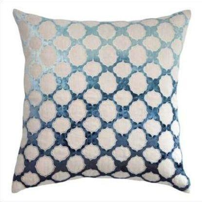 Kevin O'Brien Fretwork Appliqued Linen Pillow FRP-AZ
