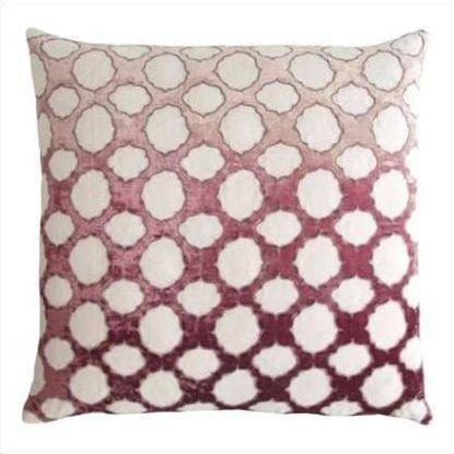 Kevin O'Brien Fretwork Appliqued Linen Pillow FRP-WIST