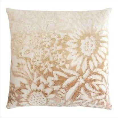 Kevin O'Brien Garland Appliqued Linen Pillow GRP-NK