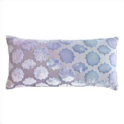 Kevin O'Brien Mod Fretwork Velvet Mini Boudoir Pillow MFP-H53-816