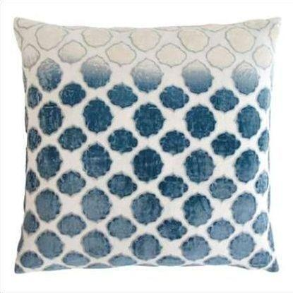 Kevin O'Brien Tile Appliqued Linen Pillow TLP-AZ
