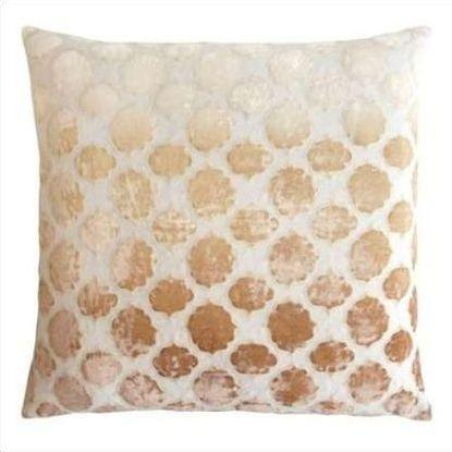 Kevin O'Brien Tile Appliqued Linen Pillow TLP-NK