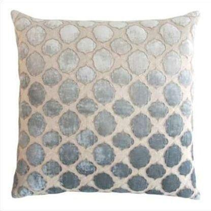 Kevin O'Brien Tile Appliqued Linen Pillow TLP-SEA
