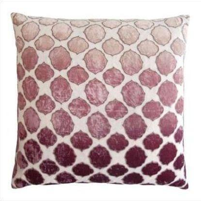 Kevin O'Brien Tile Appliqued Linen Pillow TLP-WIST