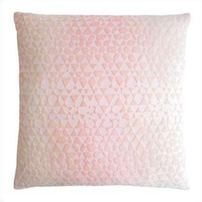 Kevin O'Brien Triangles Velvet Pillow TRP-H61-22