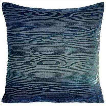 Kevin O'Brien Woodgrain Velvet Pillow WDP-H50-22