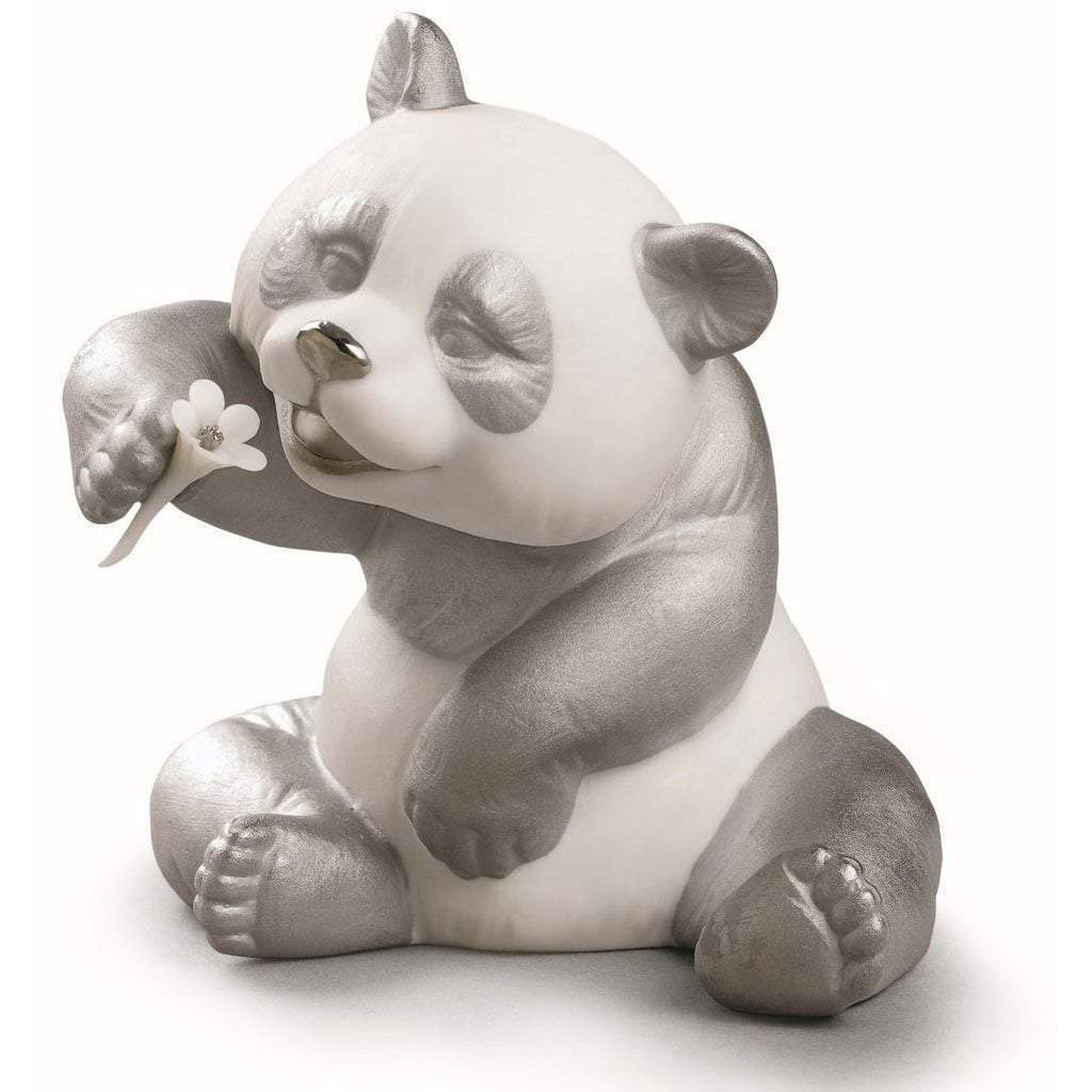 Lladro A Cheerful Panda Re-Deco Figurine 01009088