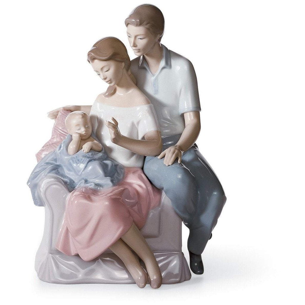 Lladro A Circle Of Love Figurine 01006986