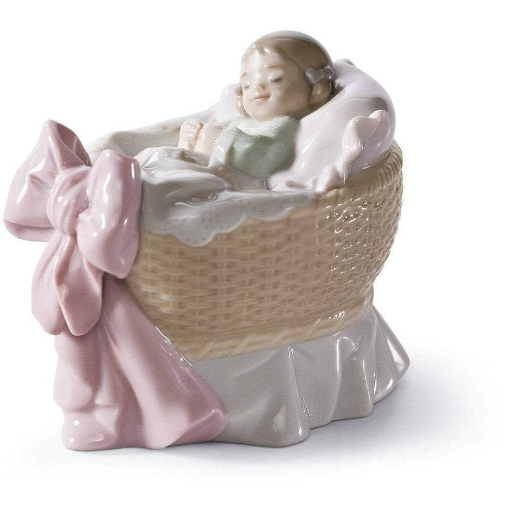 Lladro A New Treasure Girl Figurine 01006977