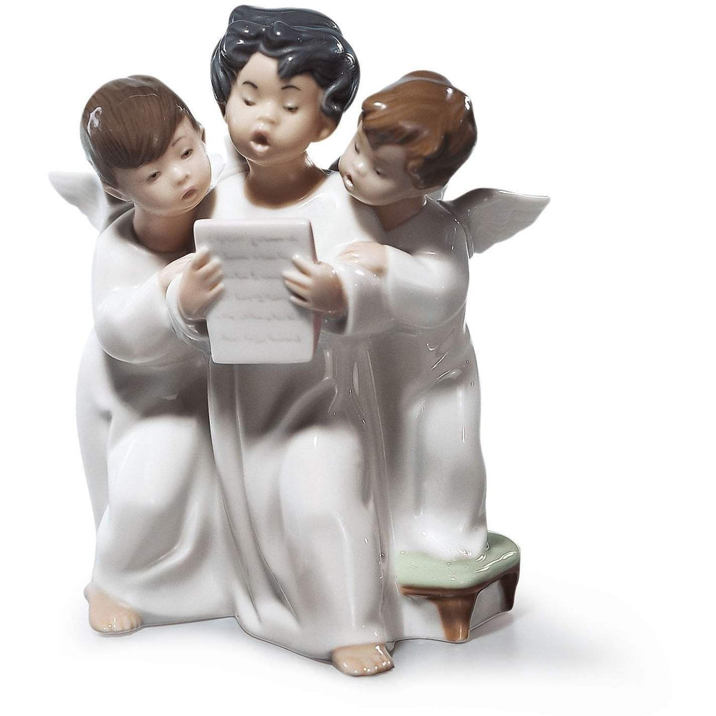 Lladro Angels' Group Figurine 01004542