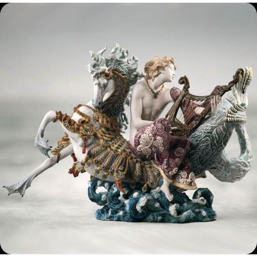 Lladro Arion on a Sea Horse 01001948