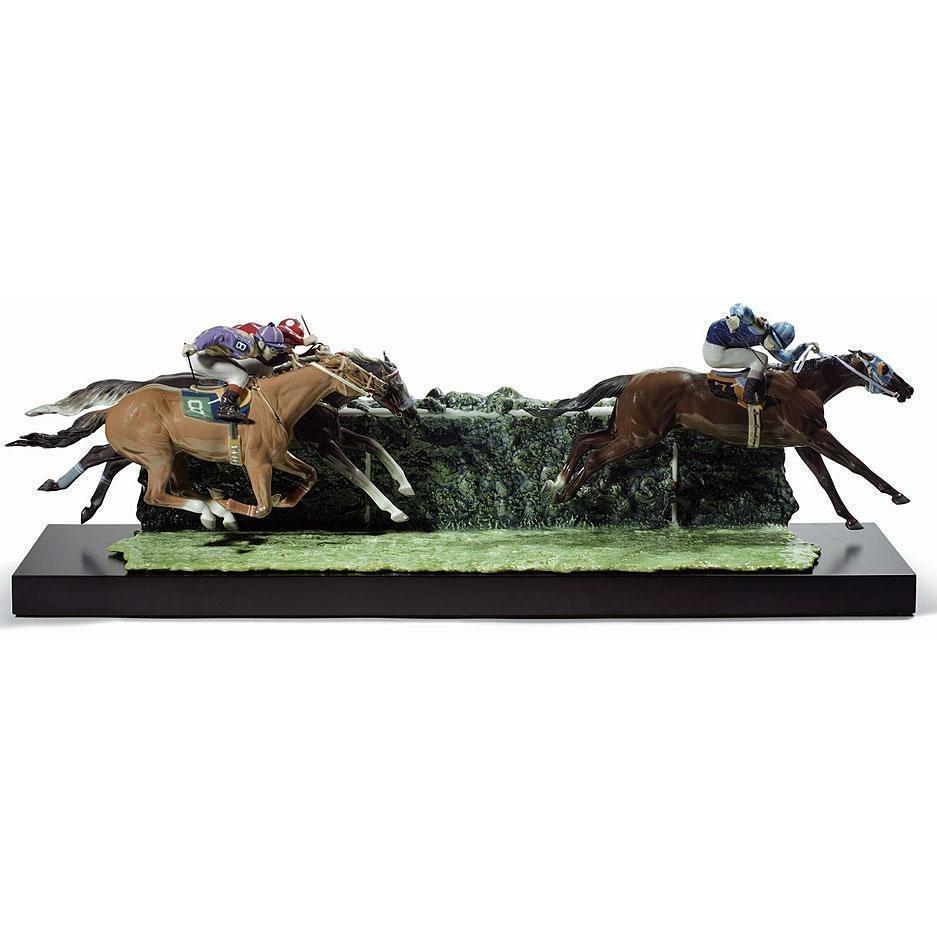 Lladro At the Derby Figurine 01001967