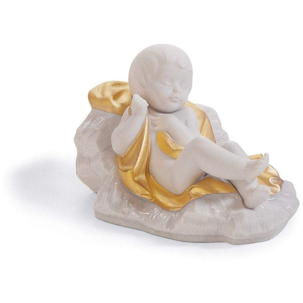 Lladro Baby Jesus Re Deco Figurine 01007087