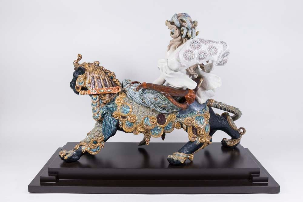 Lladro Bacchante On A Panther 01001949