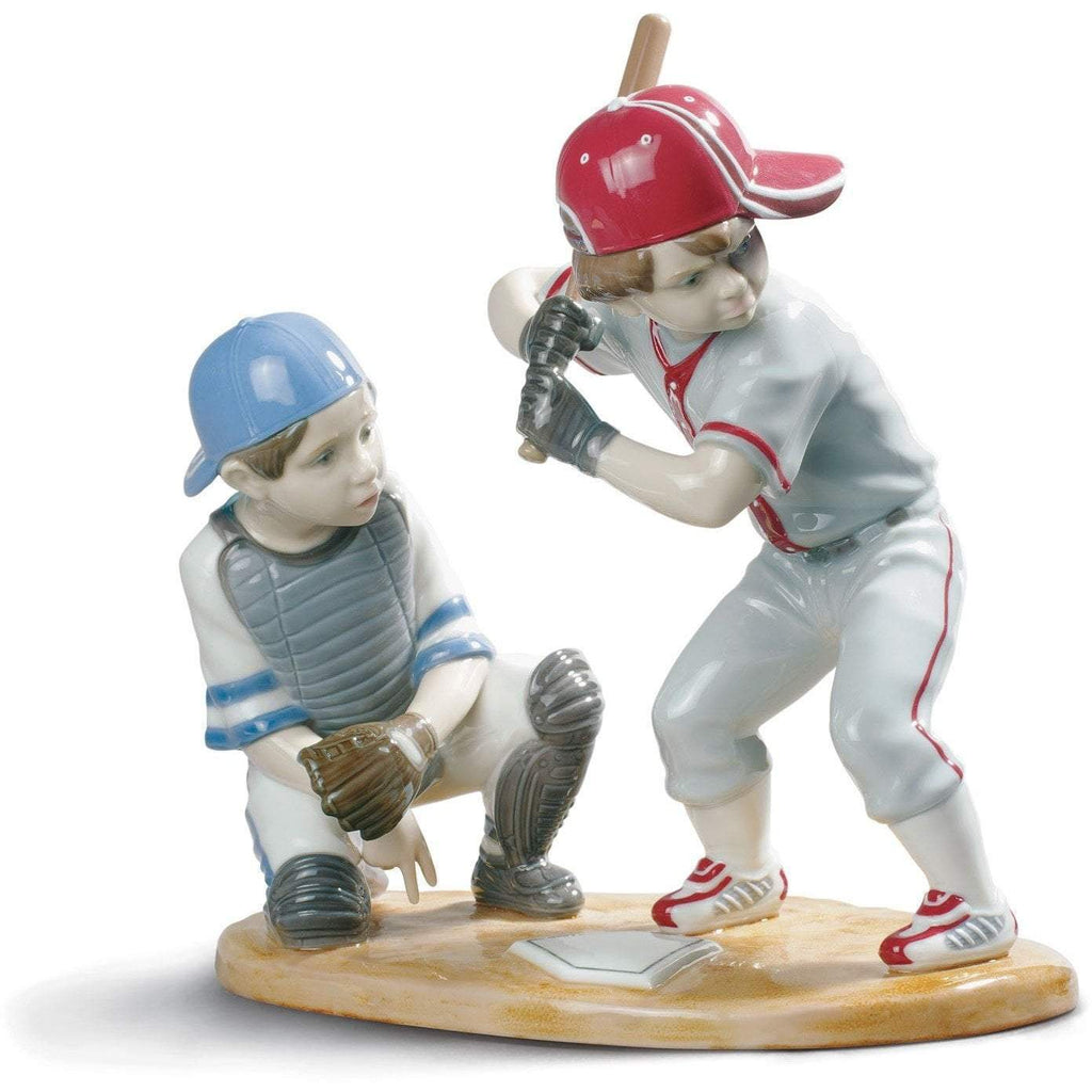 Lladro Baseball Players Figurine 01008797