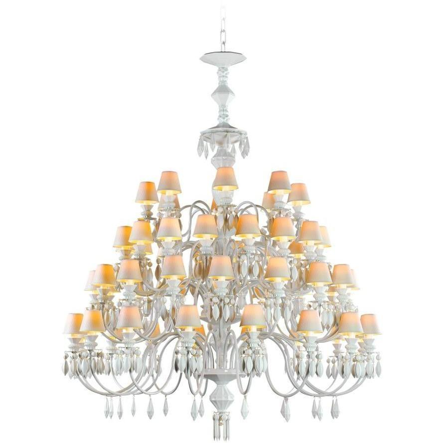 Lladro Belle De Nuit Chandelier 56 Light White 01023769