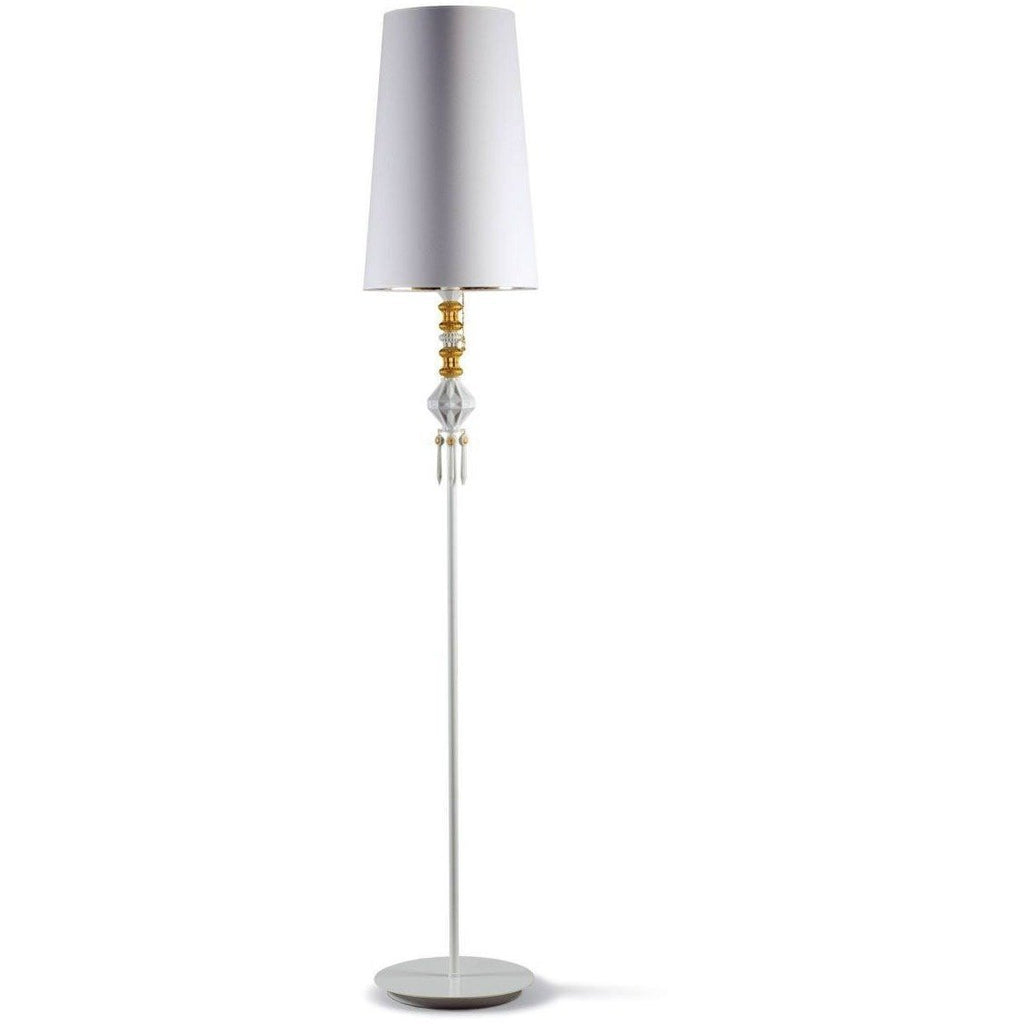 Lladro Belle De Nuit Floor Lamp I Gold 01023456