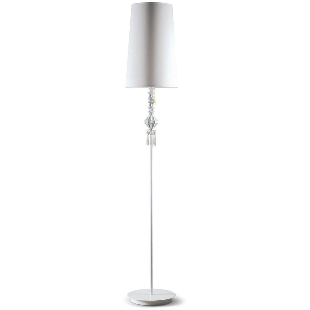 Lladro Belle De Nuit Floor Lamp I White 01023371