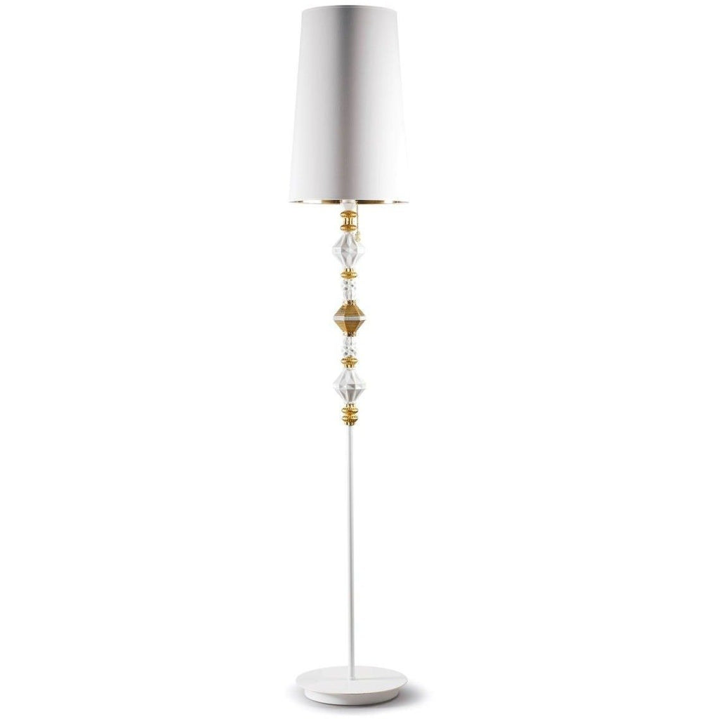 Lladro Belle De Nuit Floor Lamp II Gold 01023460