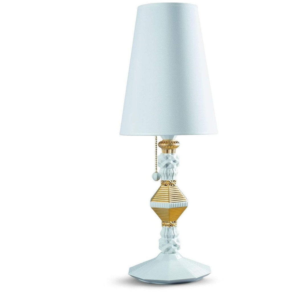 Lladro Belle De Nuit Large Table Lamp Gold 01023322