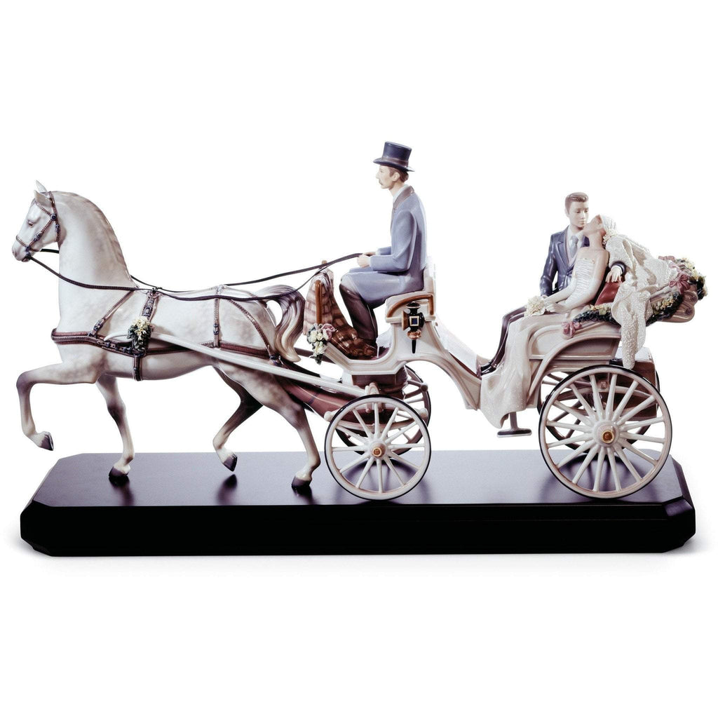 Lladro Bridal Carriage Figurine 01001932