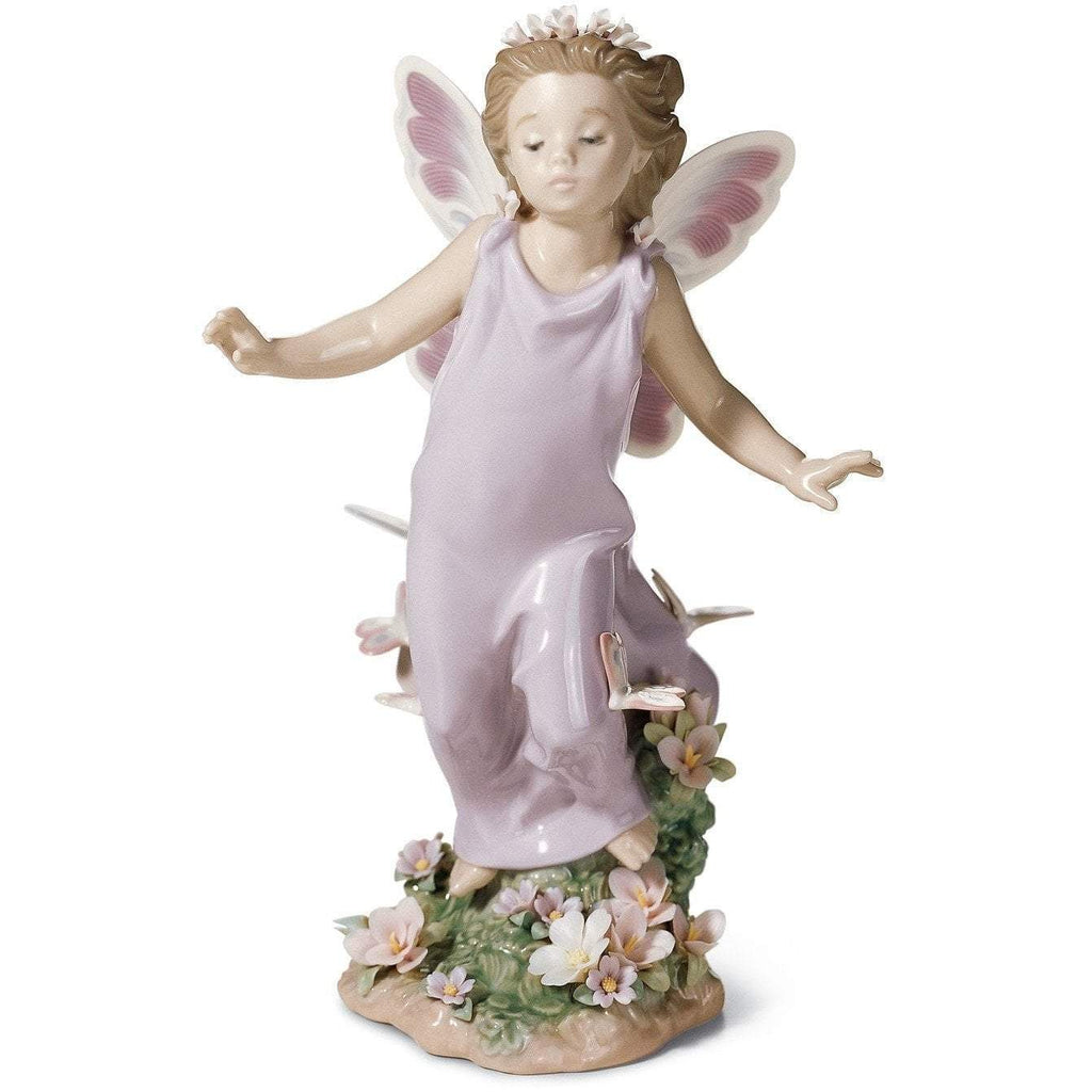 Lladro Butterfly Wings Figurine 01006875