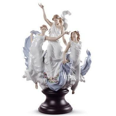 Lladro Celebration Of Spring Figurine 01008773