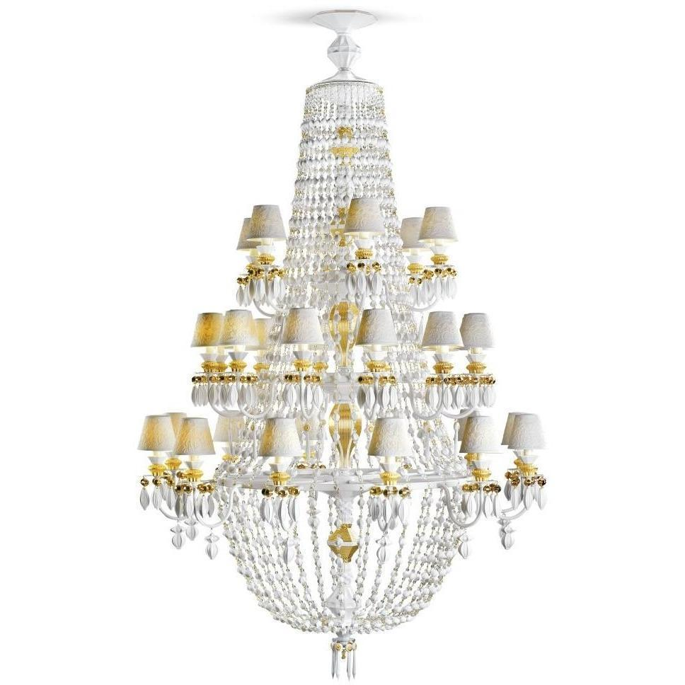 Lladro Chandelier Winter Palace 30 Lights Gold 01023522