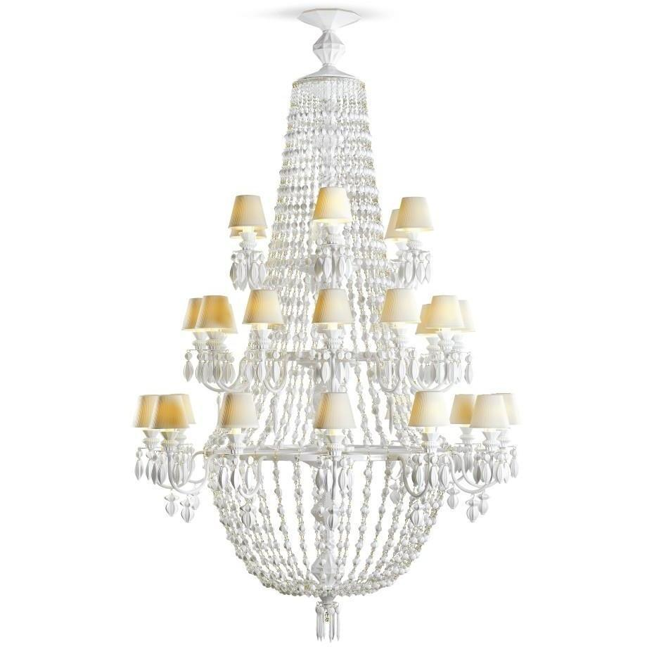 Lladro Chandelier Winter Palace 30 Lights White 01023507