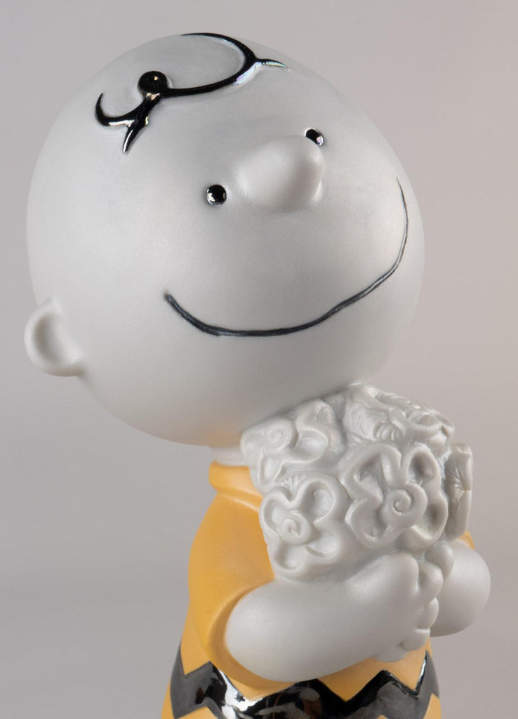 Lladro Charlie Brown Figurine 01009491