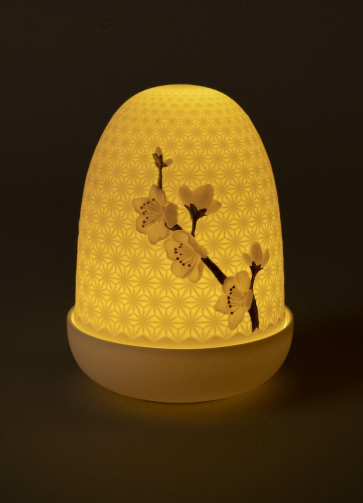 Lladro Cherry Blossoms Dome Lamp 01023989