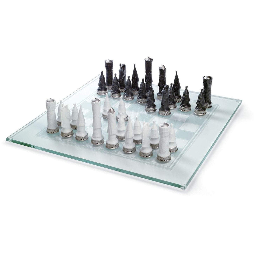 Lladro Chess Set Re Deco Figurine 01007138