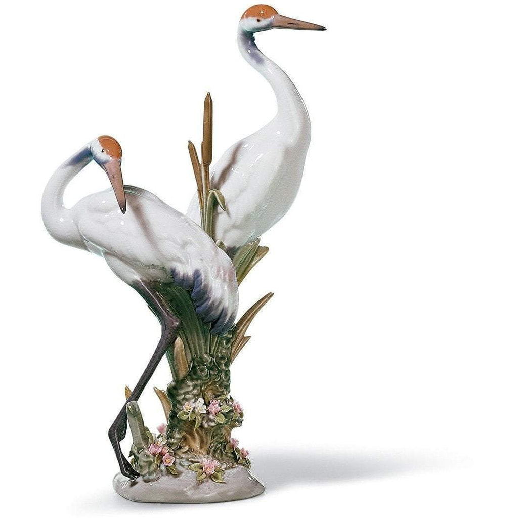 Lladro Courting Cranes Figurine 01001611