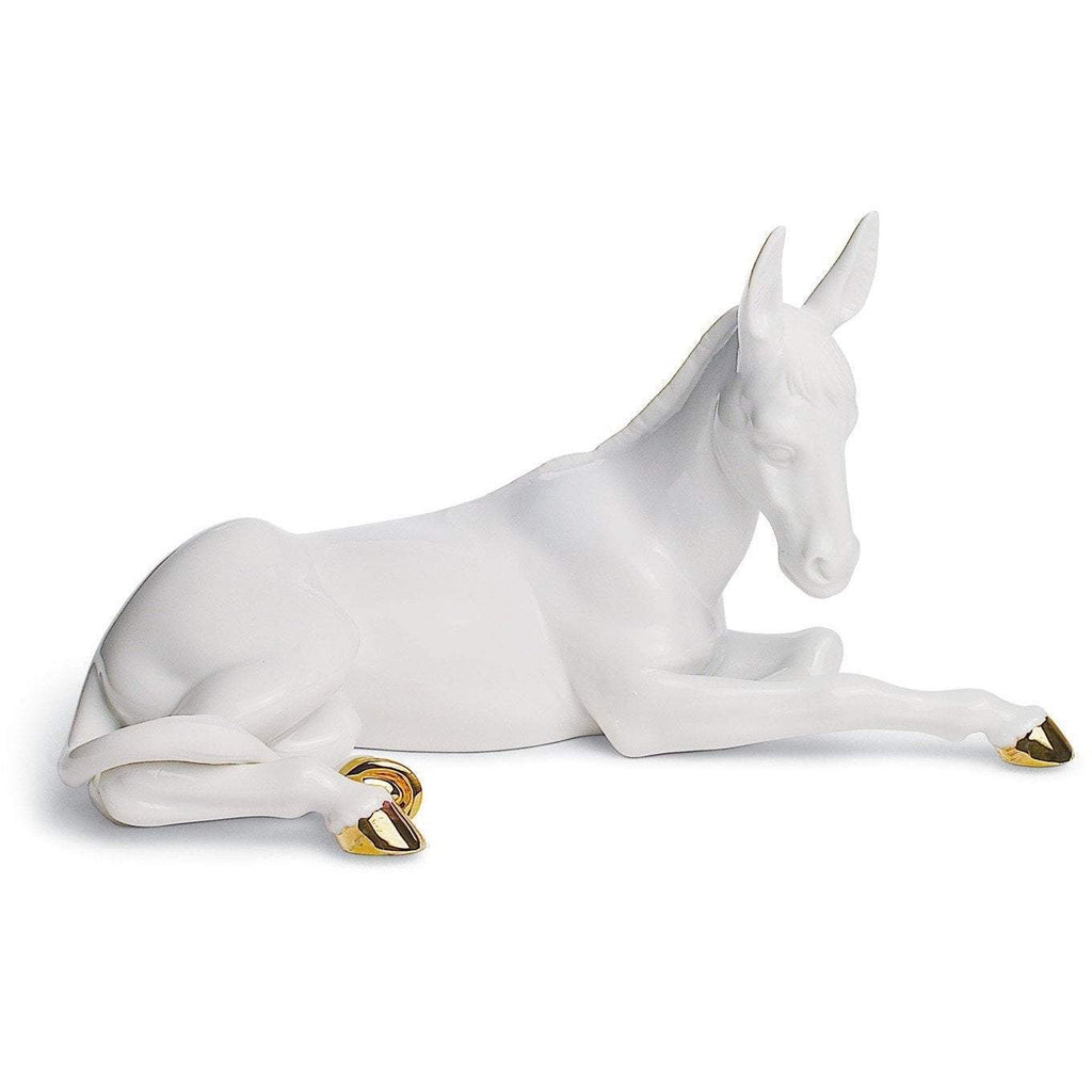 Lladro Donkey Re Deco Figurine 01007147