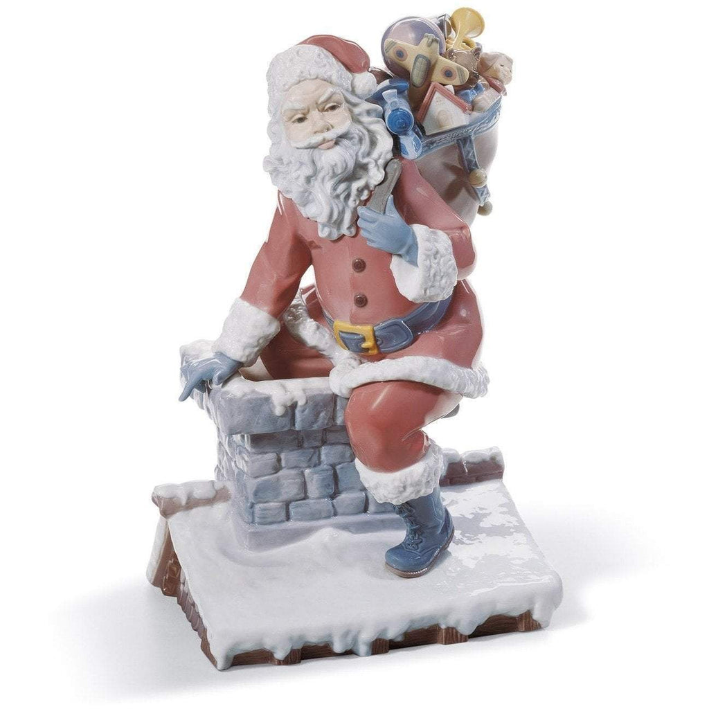 Lladro Down The Chimney Figurine 01001931