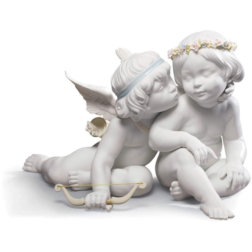 Lladro Eros And Psyche Figurine 01009128
