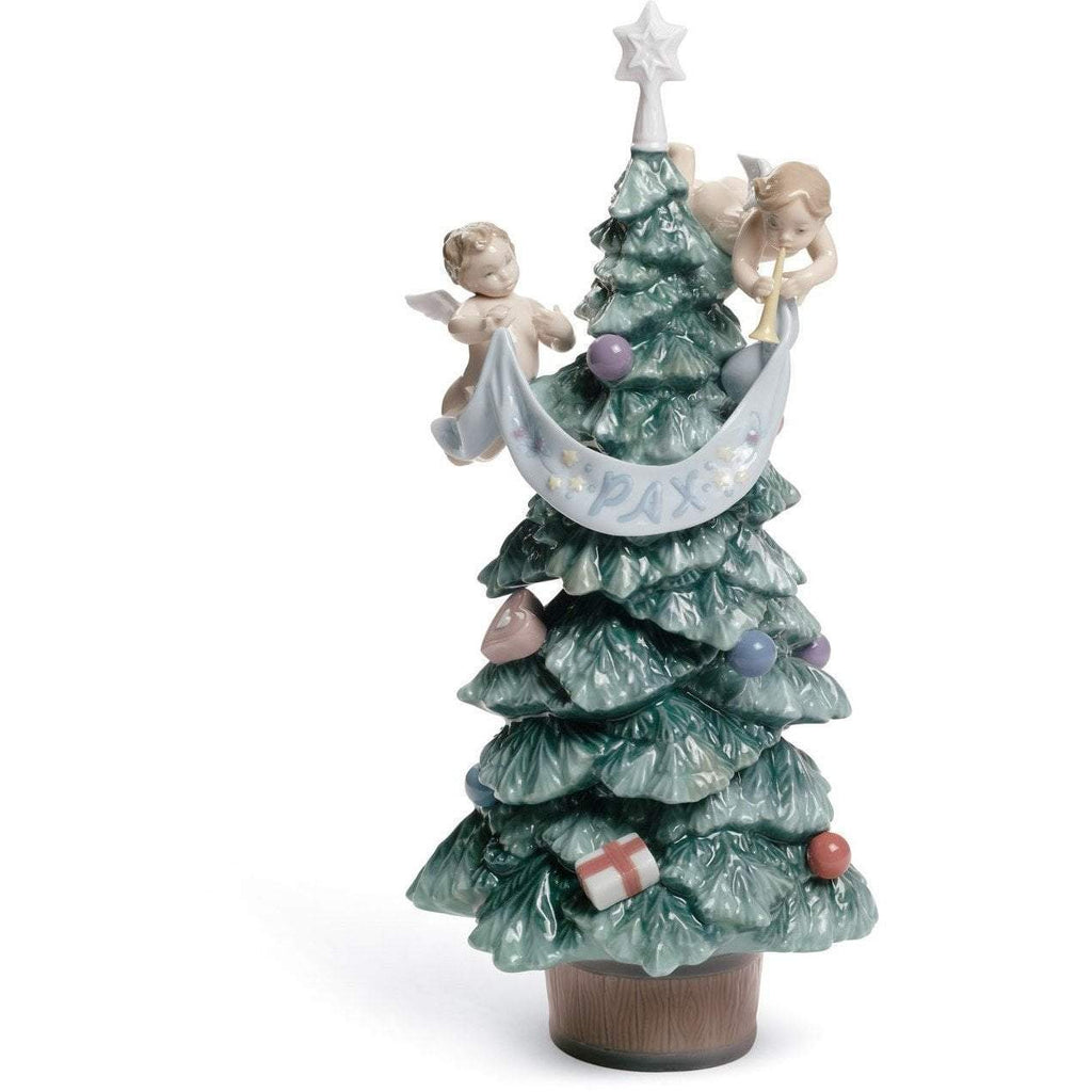Lladro Evergreen Of Peace Figurine 01008403