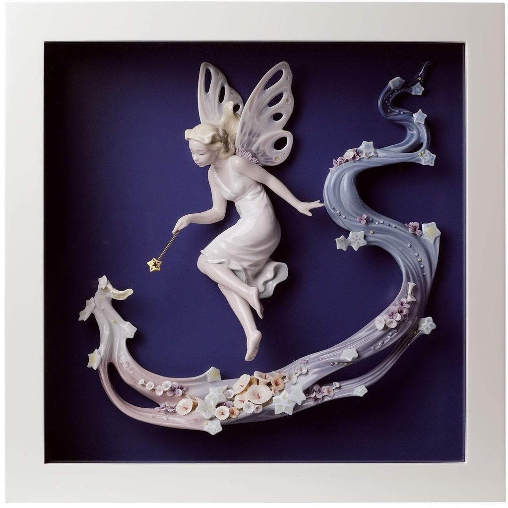 Lladro Fairy Wish Wall Art 01008448