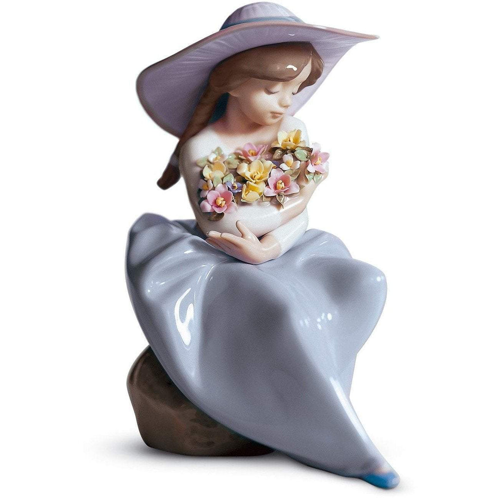 Lladro Fragrant Bouquet Figurine 01005862